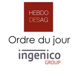 Ordre du jour INGENICO 2019