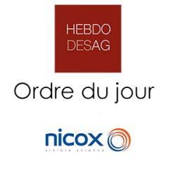 Ordre du jour NICOX 2019