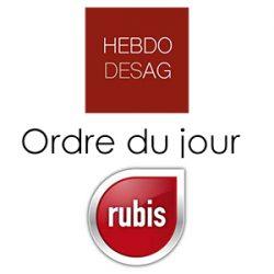 Ordre du jour Rubis