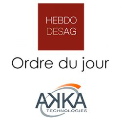 Ordre du jour AKKA TECHNOLOGIES 2019