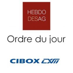 Ordre du jour CIBOX INTER@ACTIVE 2019