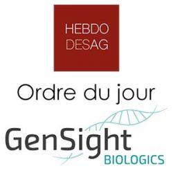Ordre du jour GENSIGHT BIOLOGICS 2019