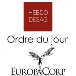 Ordre du jour EUROPACORP 2019